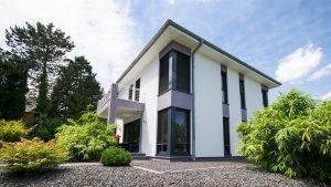 Foto Modernes Einfamilienhaus